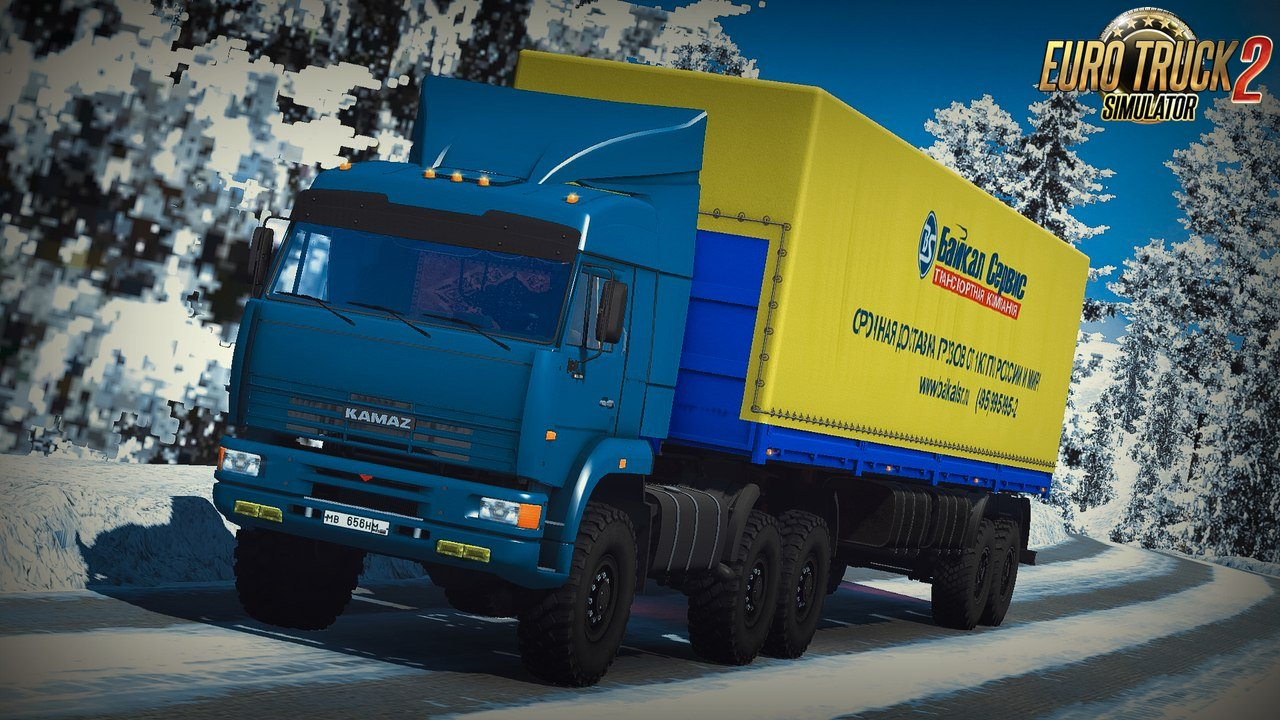 Big Russian Trailers Pack-Update [1.27.x]