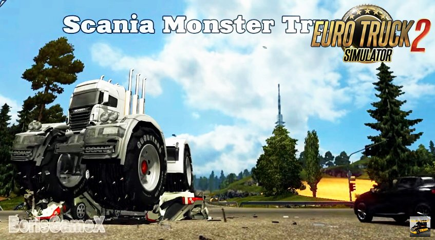 Scania Monster Truck (BigFoot) - Euro Truck Simulator 2