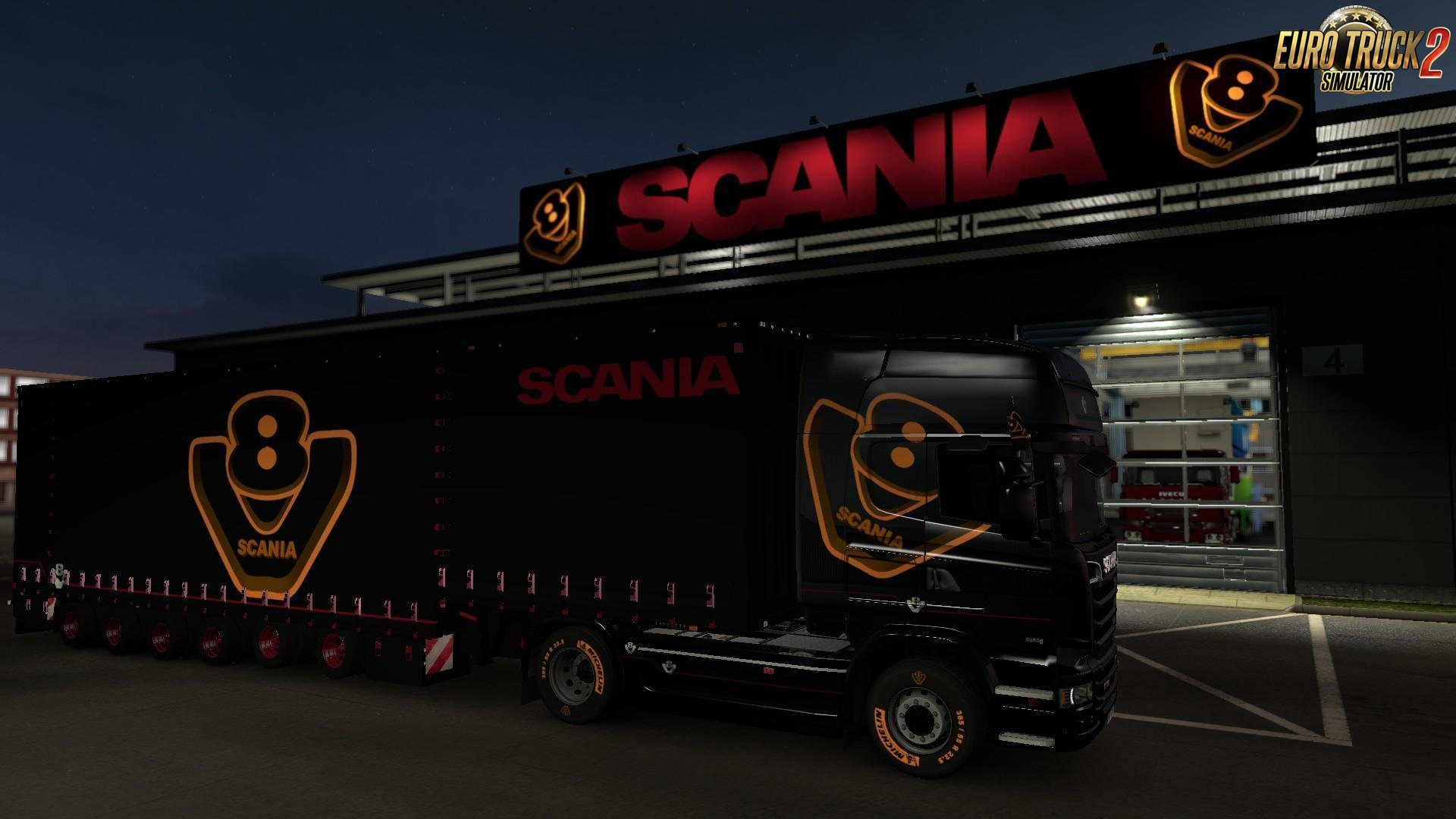 Scania Special V8 Pack  Edition v3.1 by CrowerCZ (1.27.x)