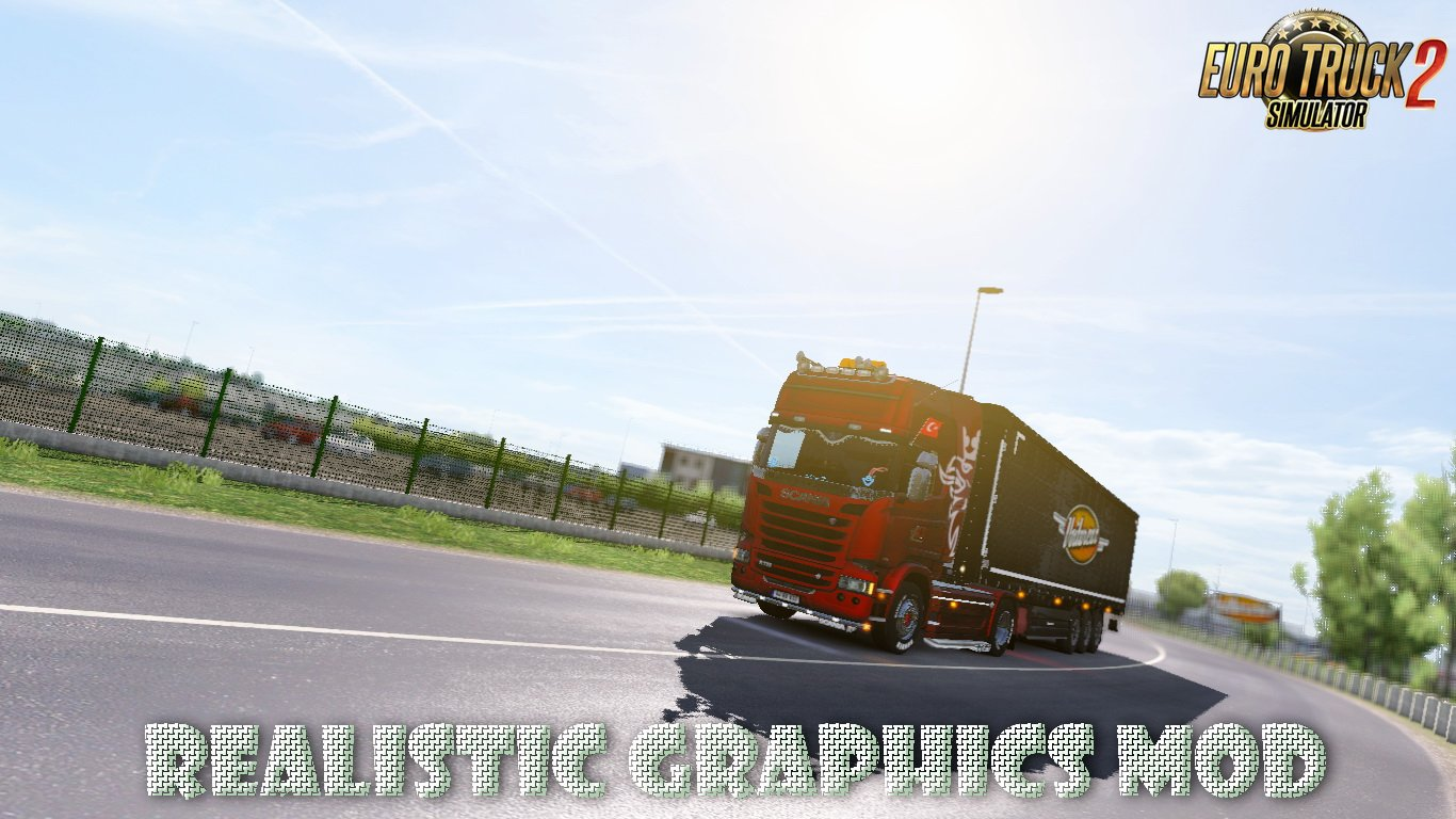 Realistic Graphics Mod v1.8 by Frkn64 (1.28.x)