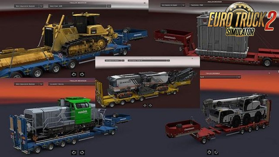 Real logo Heavy Load Trailer DLC [1.27.x]
