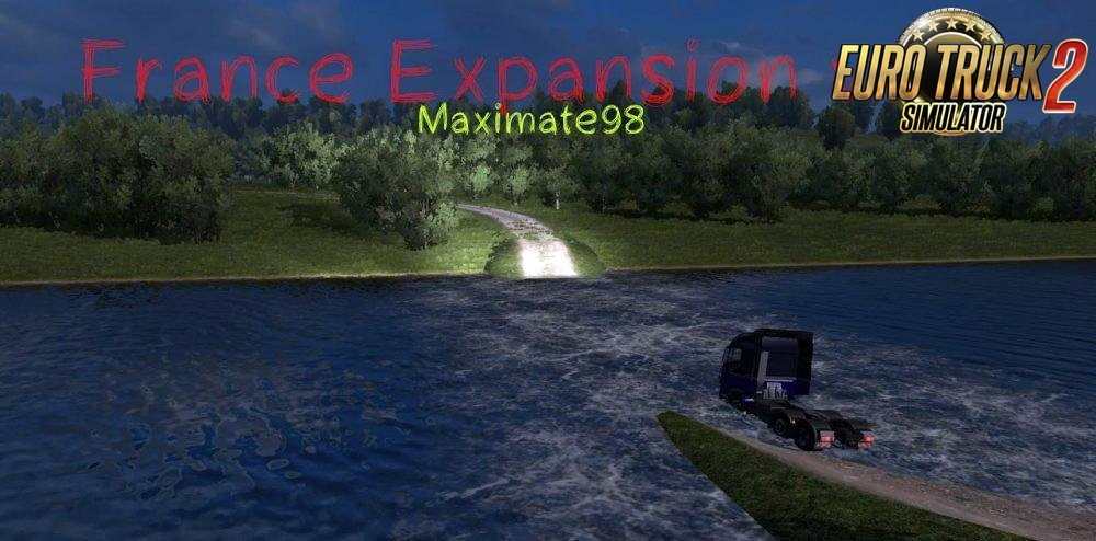 France Expansion v1.0 for Ets2
