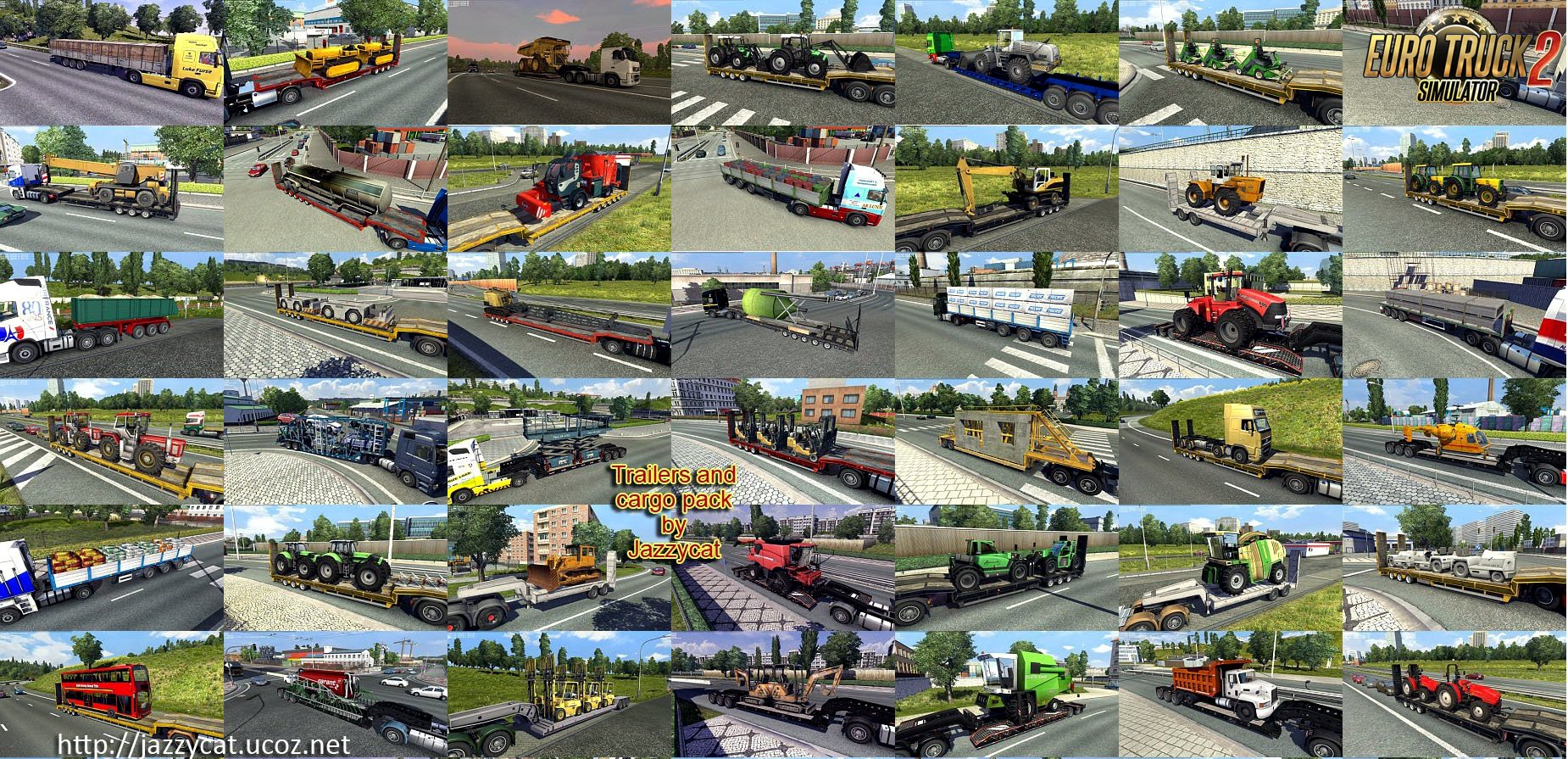 Addons for the Trailers and Cargo Pack v4.9.1 from Jazzycat