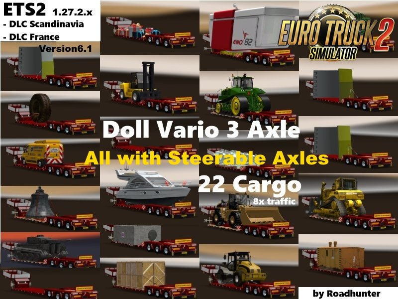 Doll Vario 3Achs with new backlight and in traffic v 6.1[1.27.x]