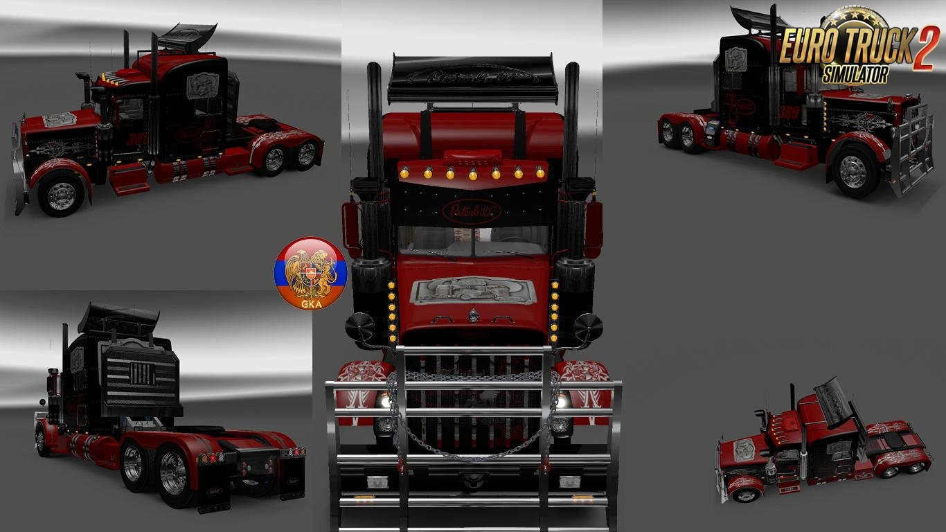 Style Skin for Peterbilt 389-389 v2.0 (1.27.x)