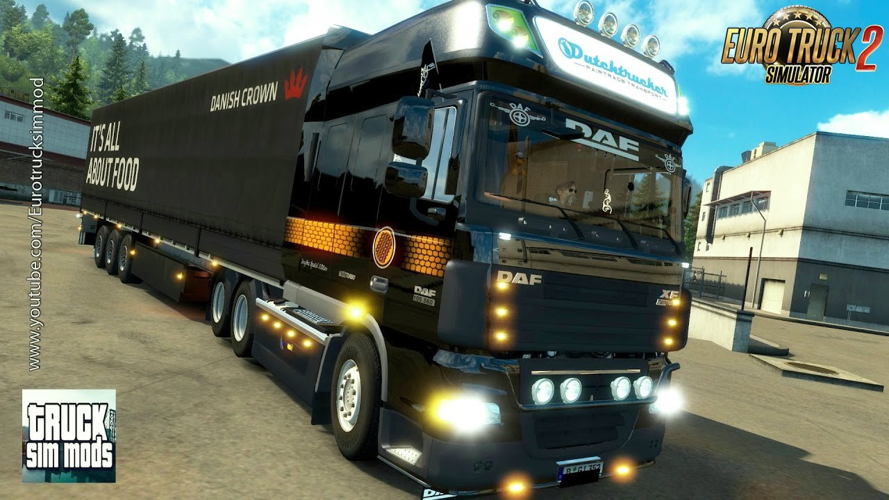 Improved DAF XF 105 v 1.5.1 (1.27.x) - Euro Truck Simulator 2