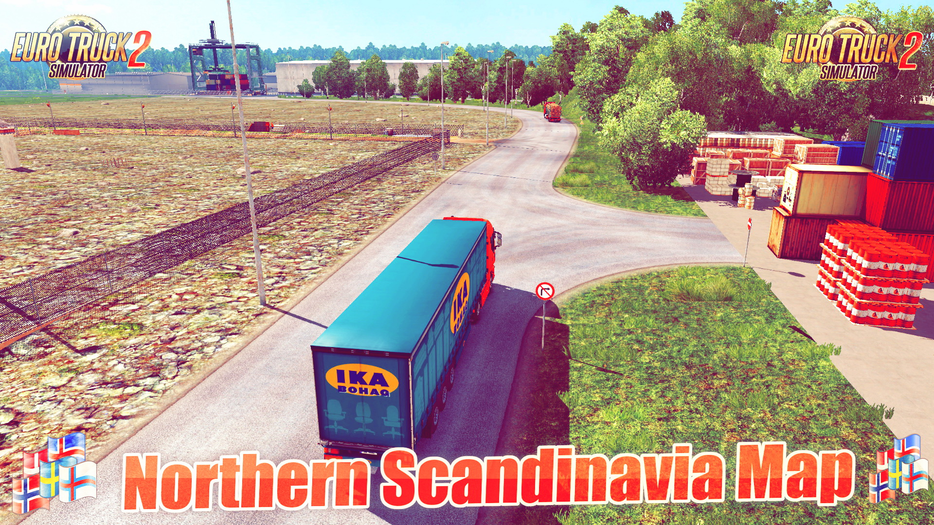 Northern Scandinavia Map v0.99.5 (1.28.x)