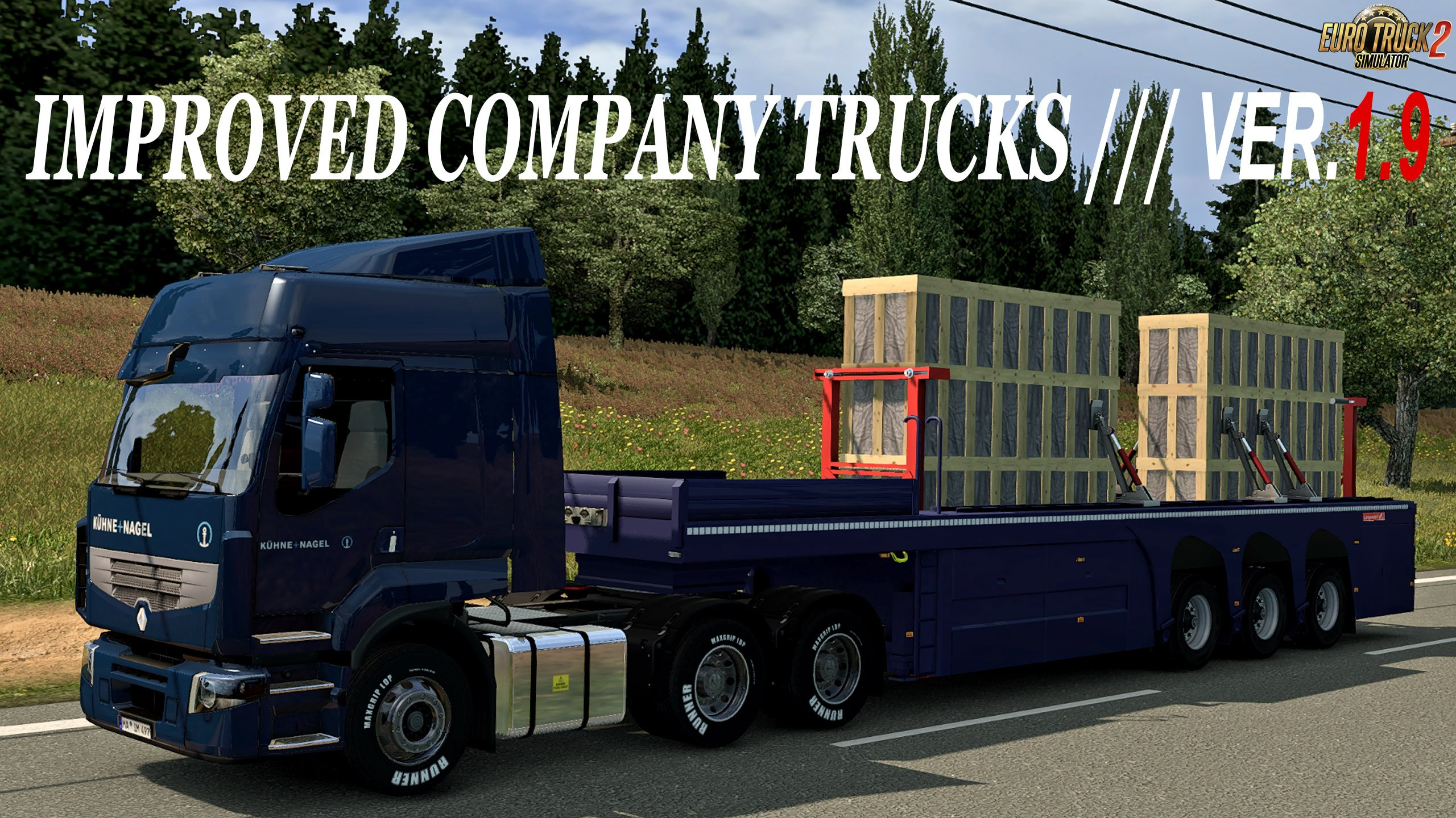 Improved company trucks v1.9 [1.27.x]