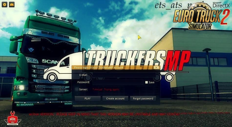 Ets2MP (Beginner) Save File