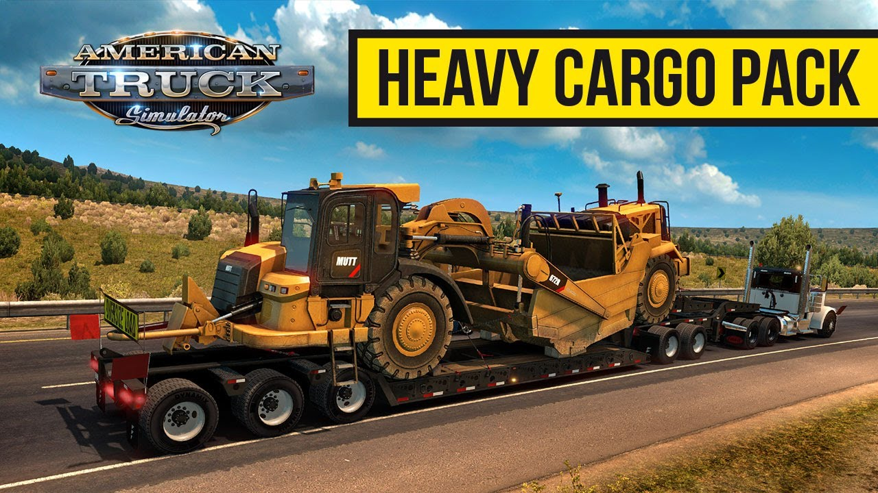 Heavy Cargo Pack DLC for ATS