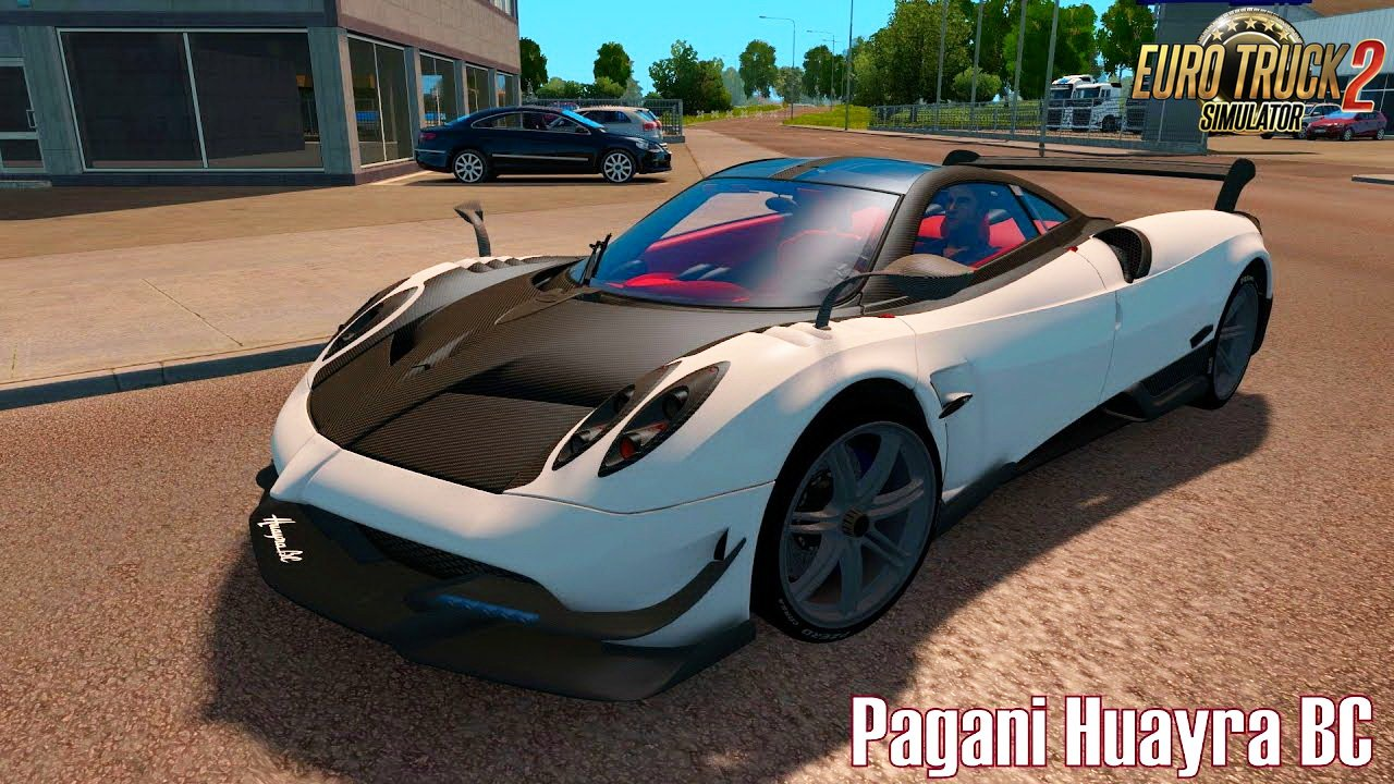 Pagani Huayra Reworked v1.0 by AModding (1.27.x)