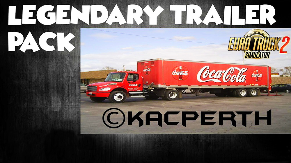 Legendary Trailer Pack v4.0 by Kacperth (1.27.x)