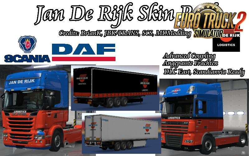 Jan De Rijk Skin Pack v1.0 (1.27.x)
