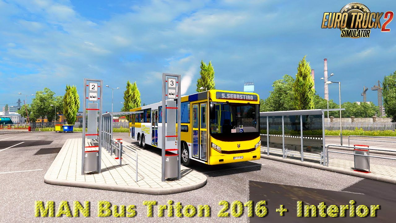 MAN Bus Triton 2016 + Interior v1.0 (Update #2) (1.27.x)
