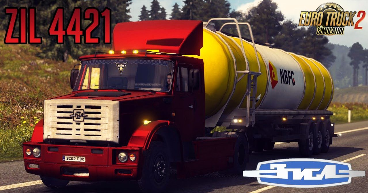 ZIL 4421 + Interior v1.0 (Updated) (1.27.x)