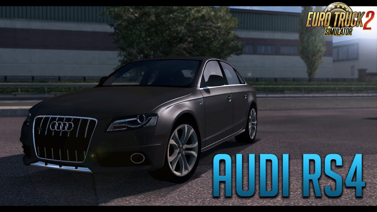 Audi RS4 + Interior v1.0 (Modified Version) (1.27.x)