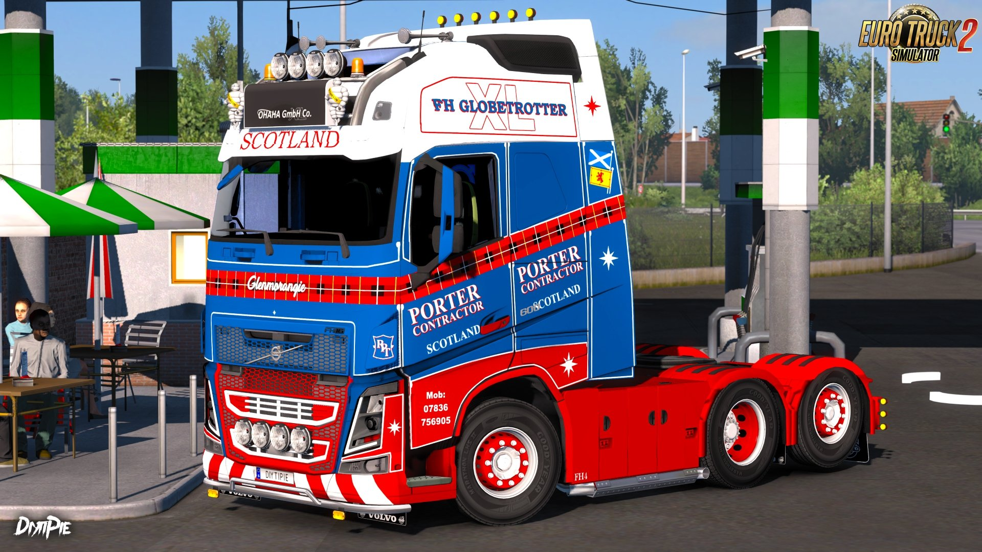 Robert Porter Skin for Volvo FH16 by Ohaha v1.0 (1.27.x)