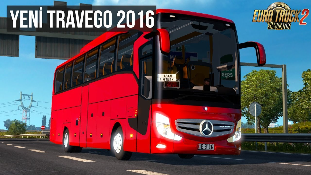 Mercedes Benz Travego 2016 + Interior v3.0 (1.27.x)