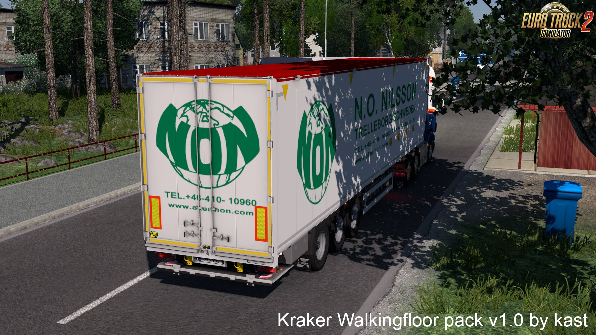 Kraker Walkingfloor Pack v1.0 by Kast [1.27.x]