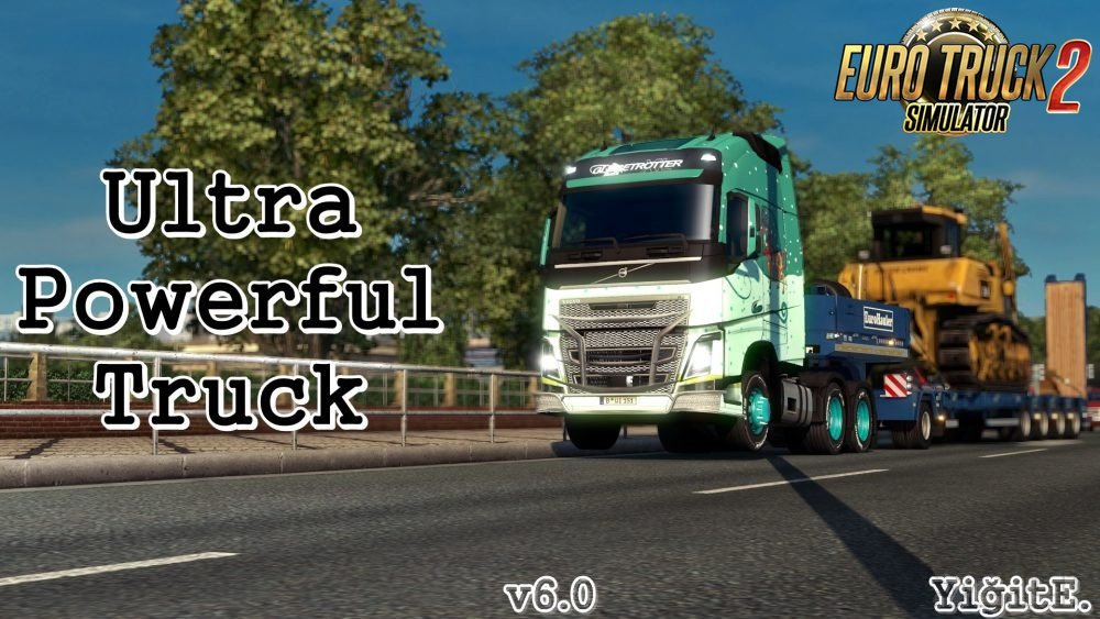 Ultra Powerful Truck Mod v 6.0