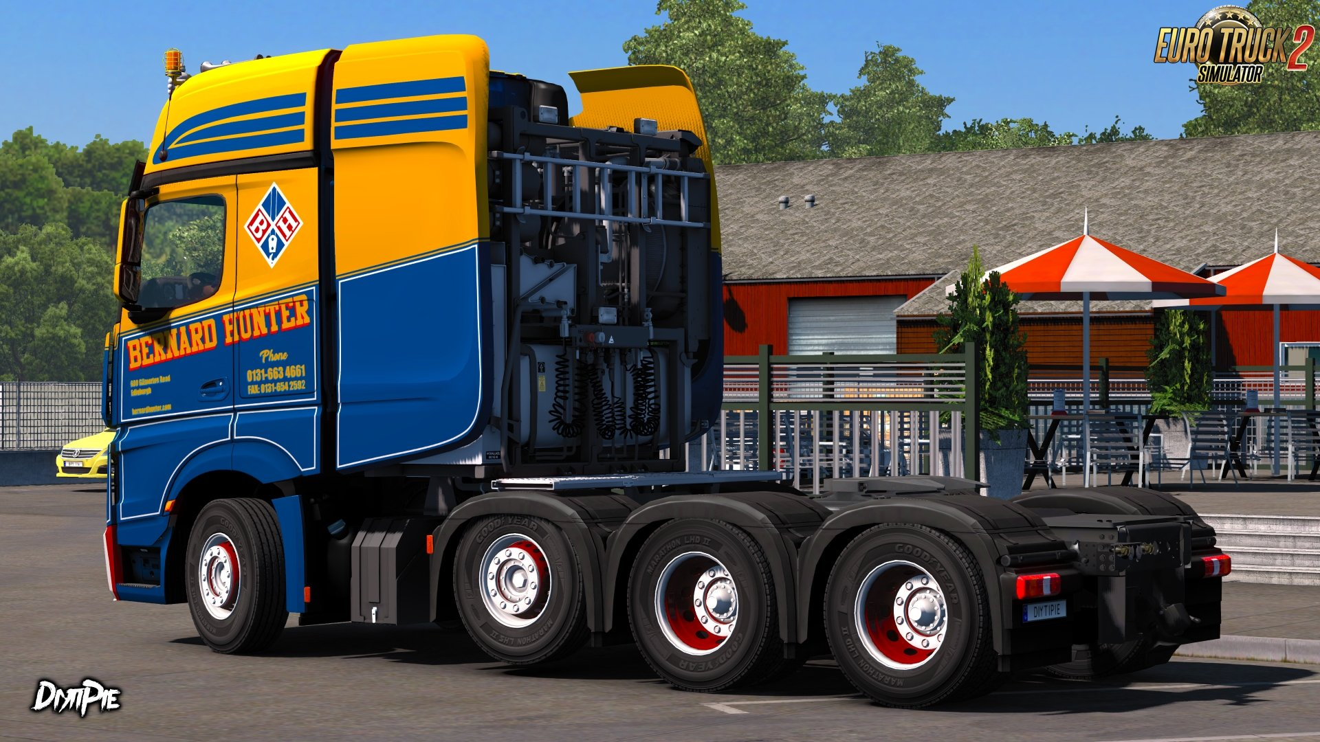 Bernard Hunter Skin for Mercedes-Benz Big Stars Actros v1.0 (1.27.x)