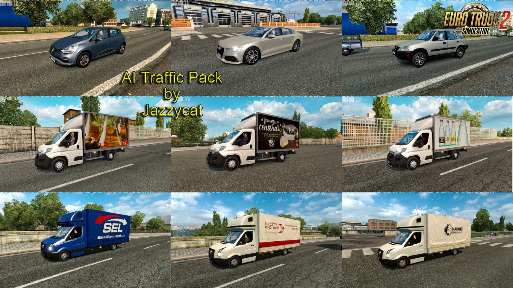 AI Traffic Pack v5.3 by Jazzycat