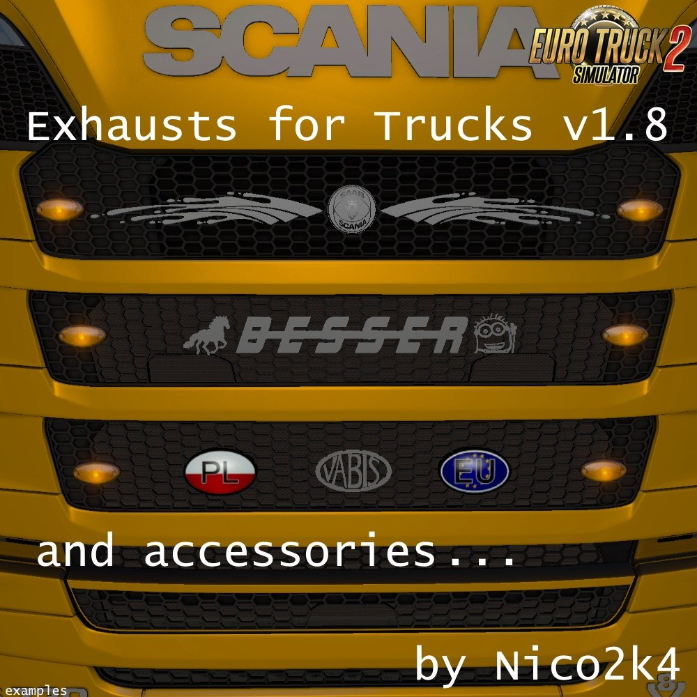Exhausts for Trucks v 1.8 by Nico2k4 [1.27.x]
