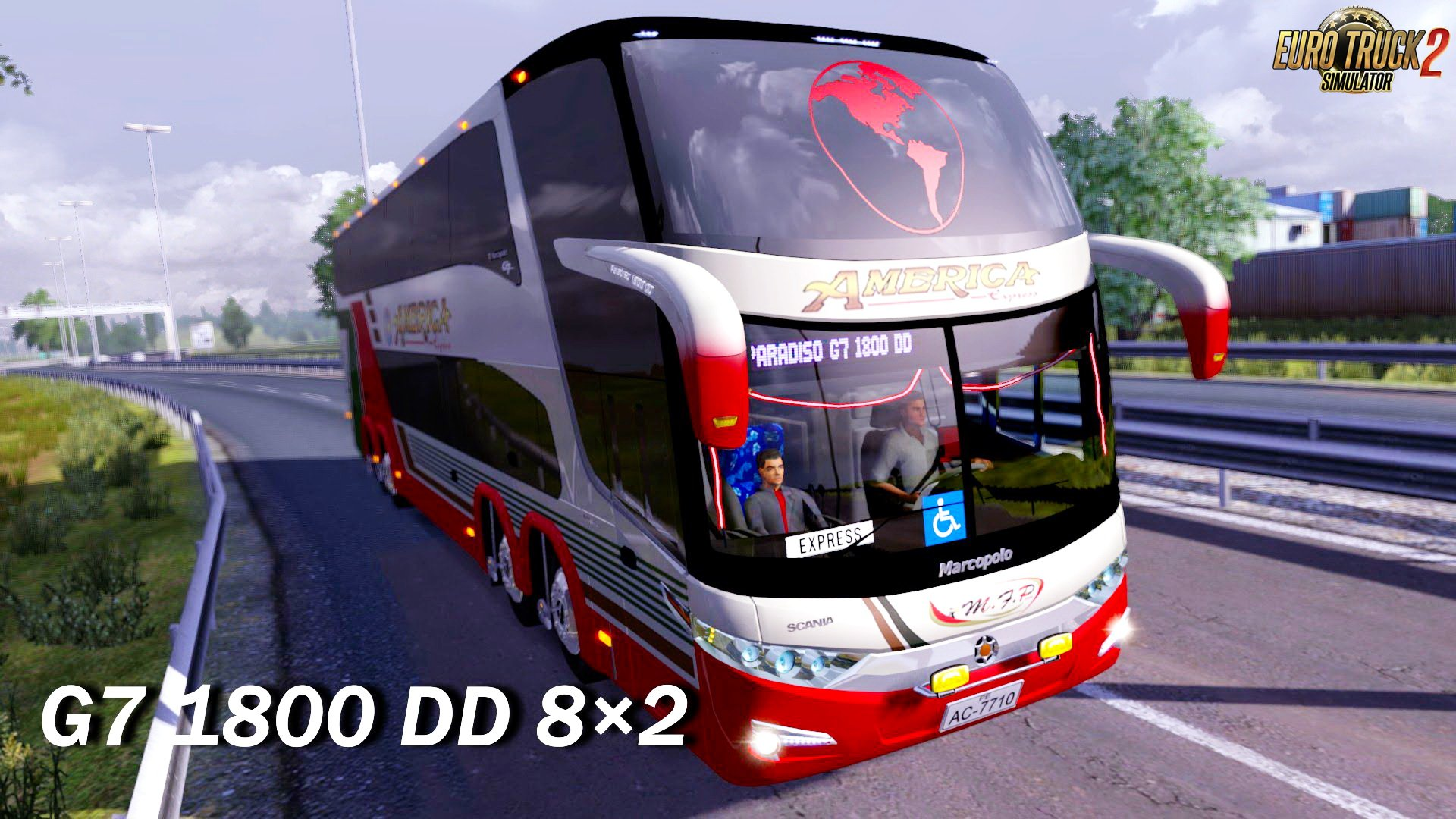 Marcopolo Paradiso G7 1800 DD 8x2 + Interior v1.0 (1.27.x) (Updated)