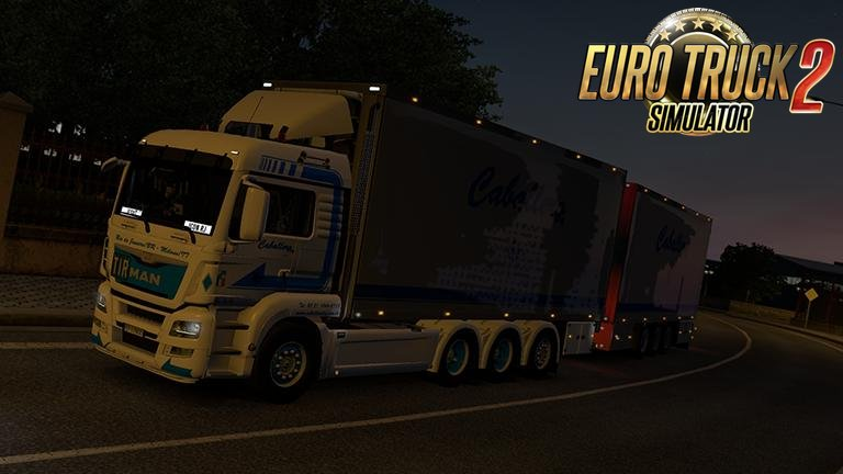 MAN TGS Euro 6 v1.0 for Ets2
