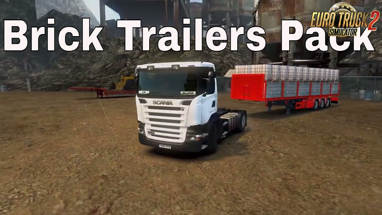 Brick Trailers Pack v1.0 (1.27.x)