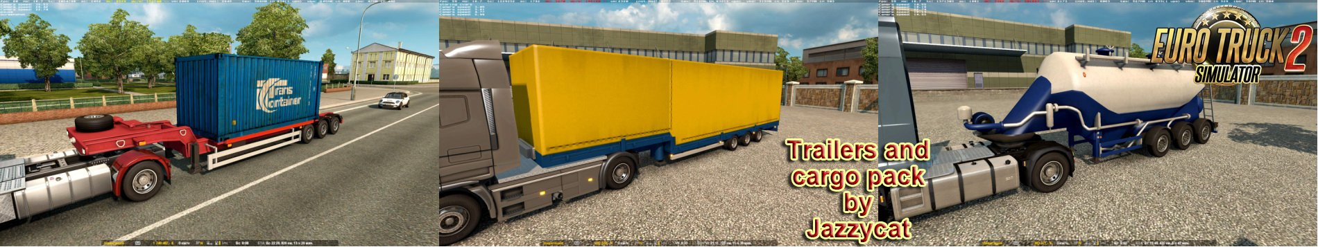 Trailers and Cargo Pack v5.2 by Jazzycat