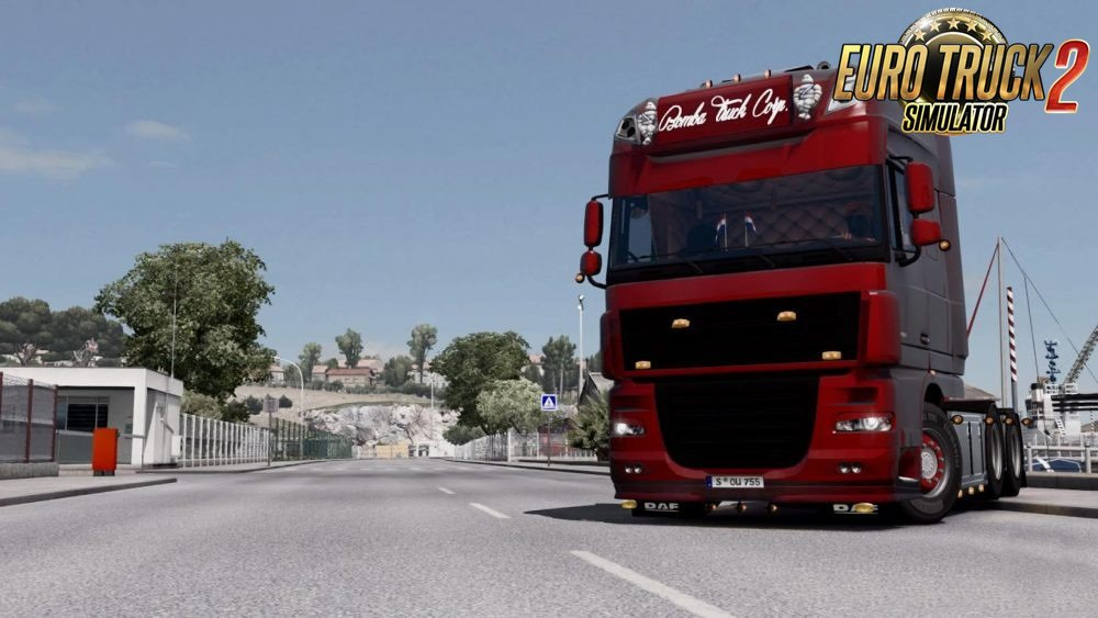 Graphic mod by Marty edited by Wendigo for Ets 2