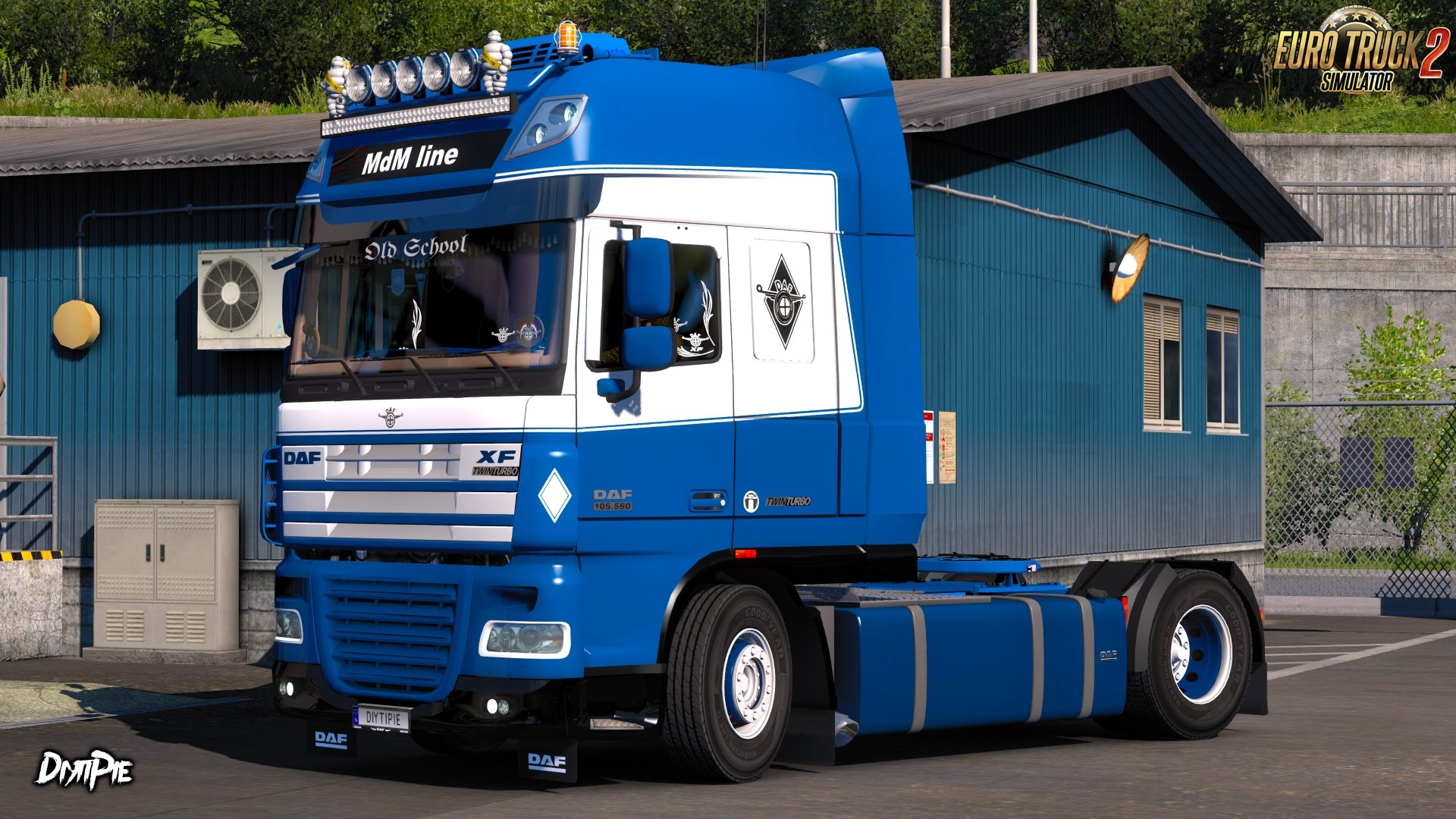 MdM Line Skin for DAF XF 105 by AlexeyP v1.0 (1.27.x)