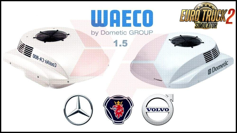 Waeco Air Conditioner CA-1000 CA-800 v 1.6 for Ets2