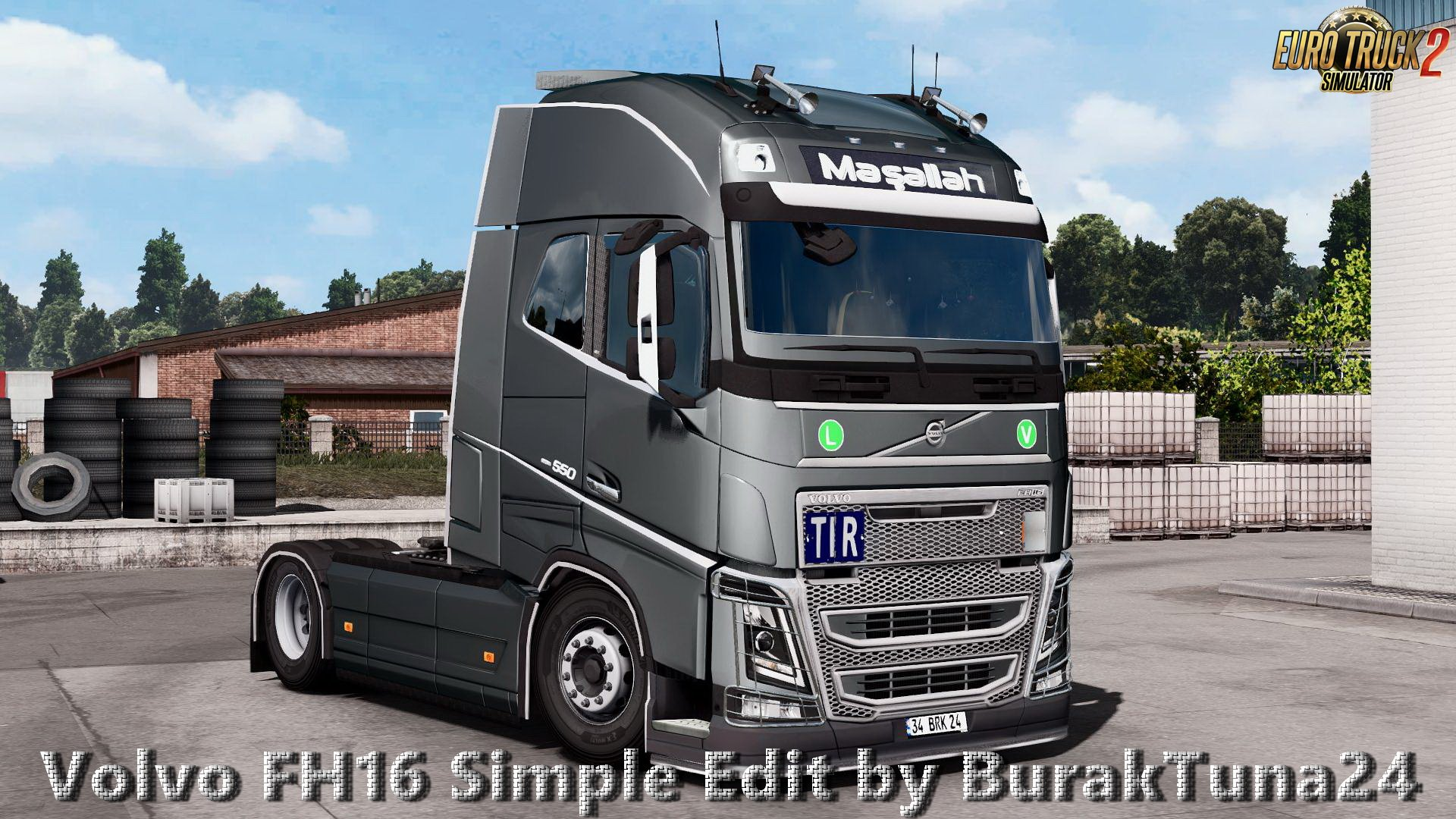 Volvo FH16 Simple Edit v1.0 by BurakTuna24 (1.27.x)