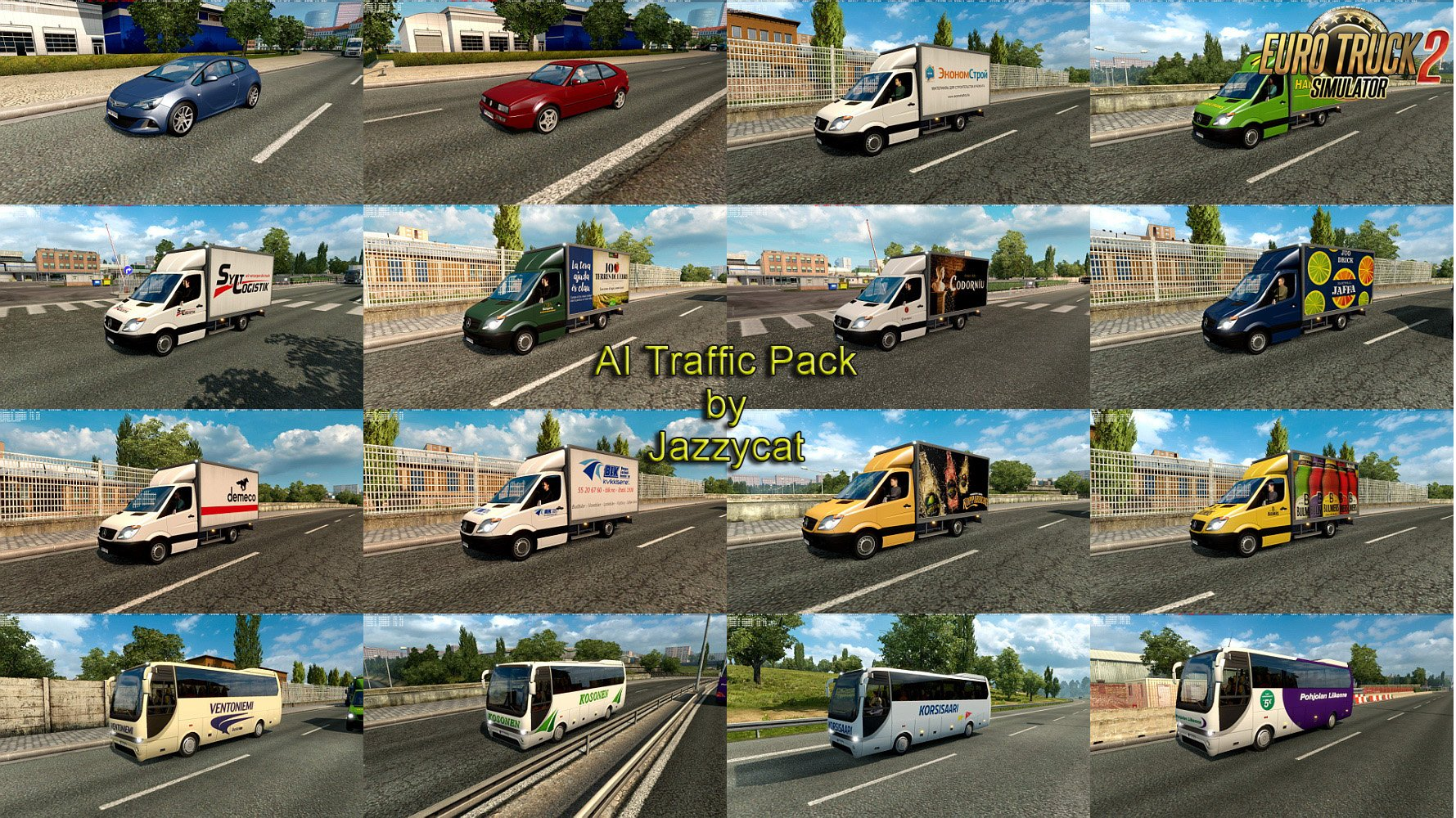 AI Traffic Pack v5.4 by Jazzycat