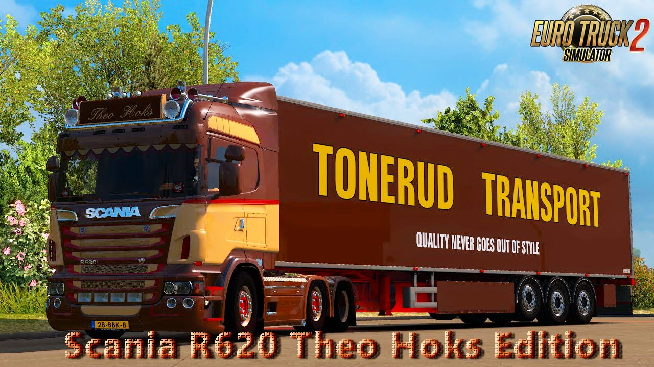 Scania R620 Theo Hoks Edition v4.0 Edit by Nikola (1.27.x)