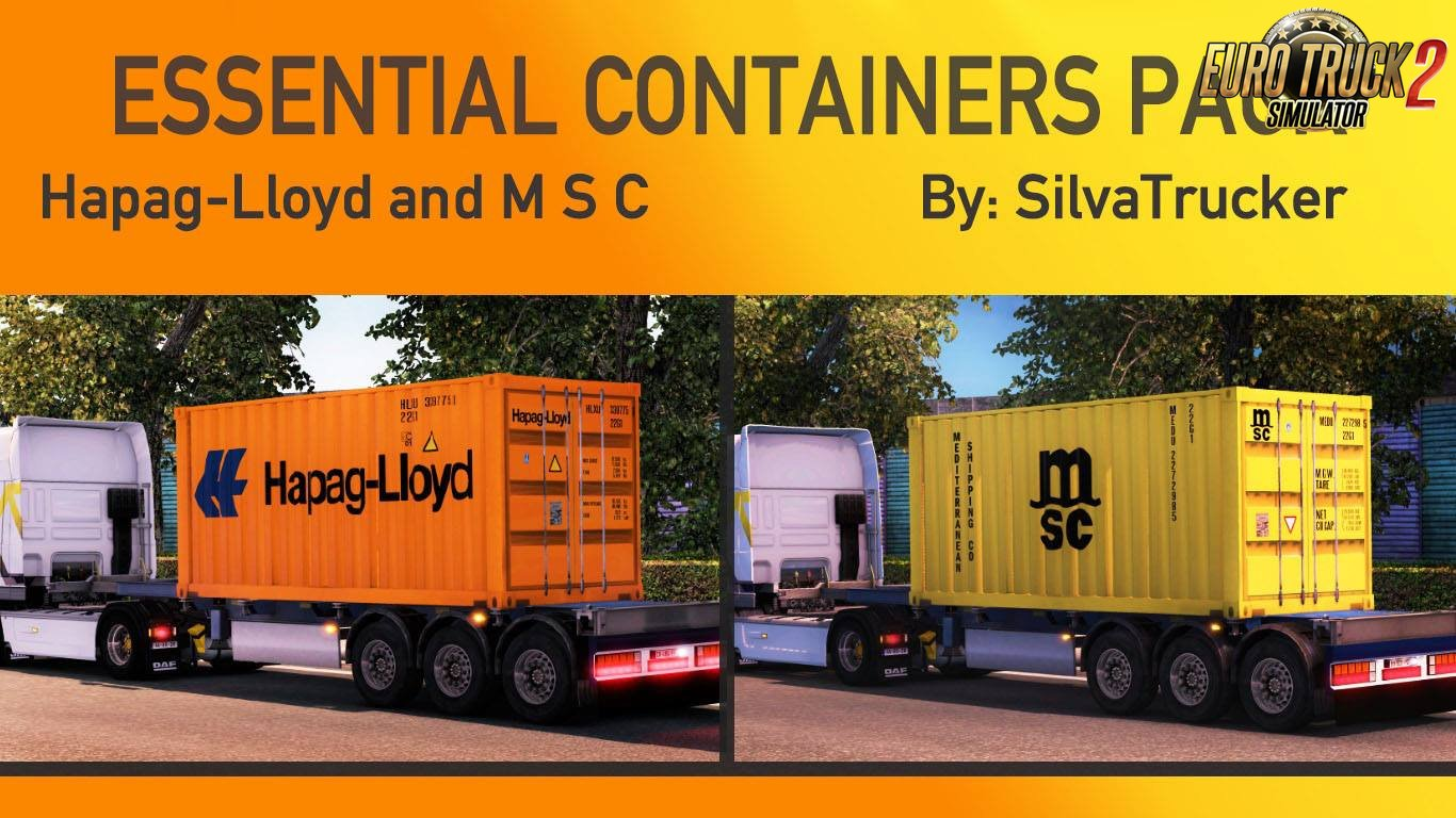 Essential Containers Pack v1.0 by SilvaTrucker (1.27.x)