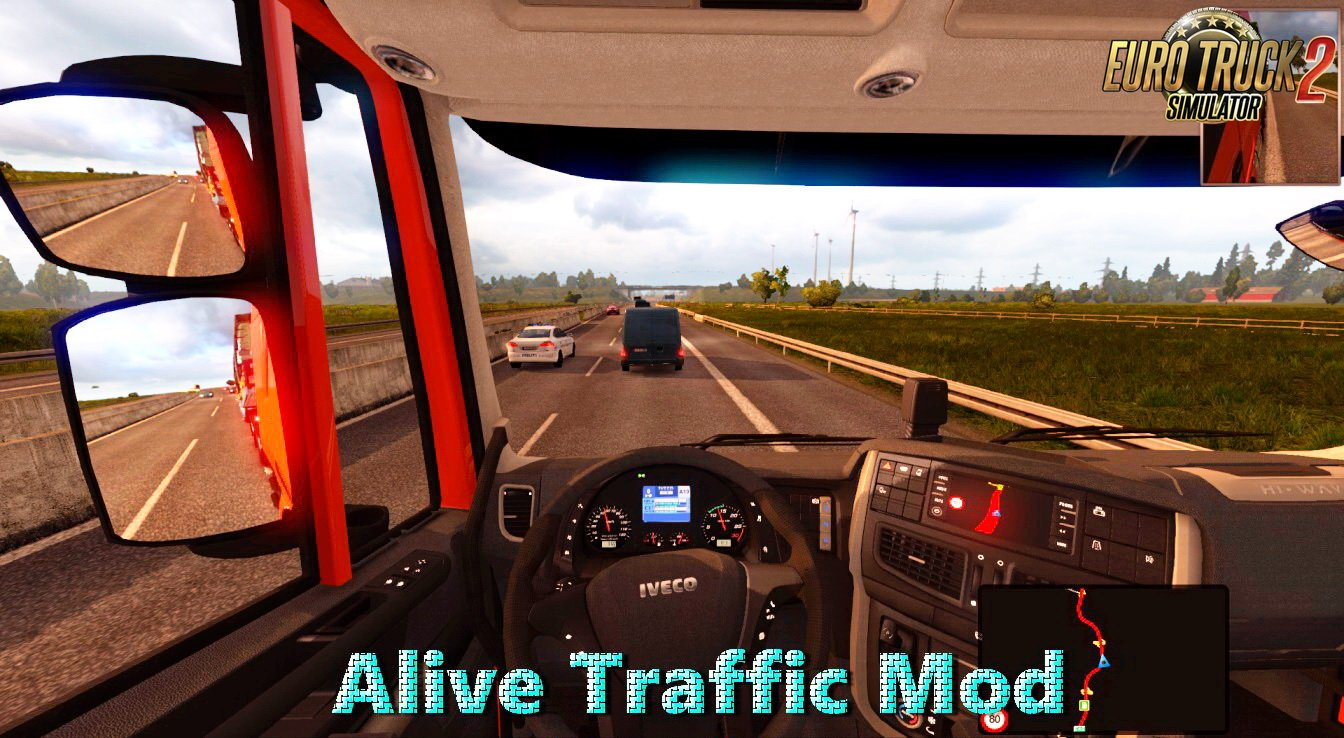 Alive Traffic Mod v1.2 (1.27.x)