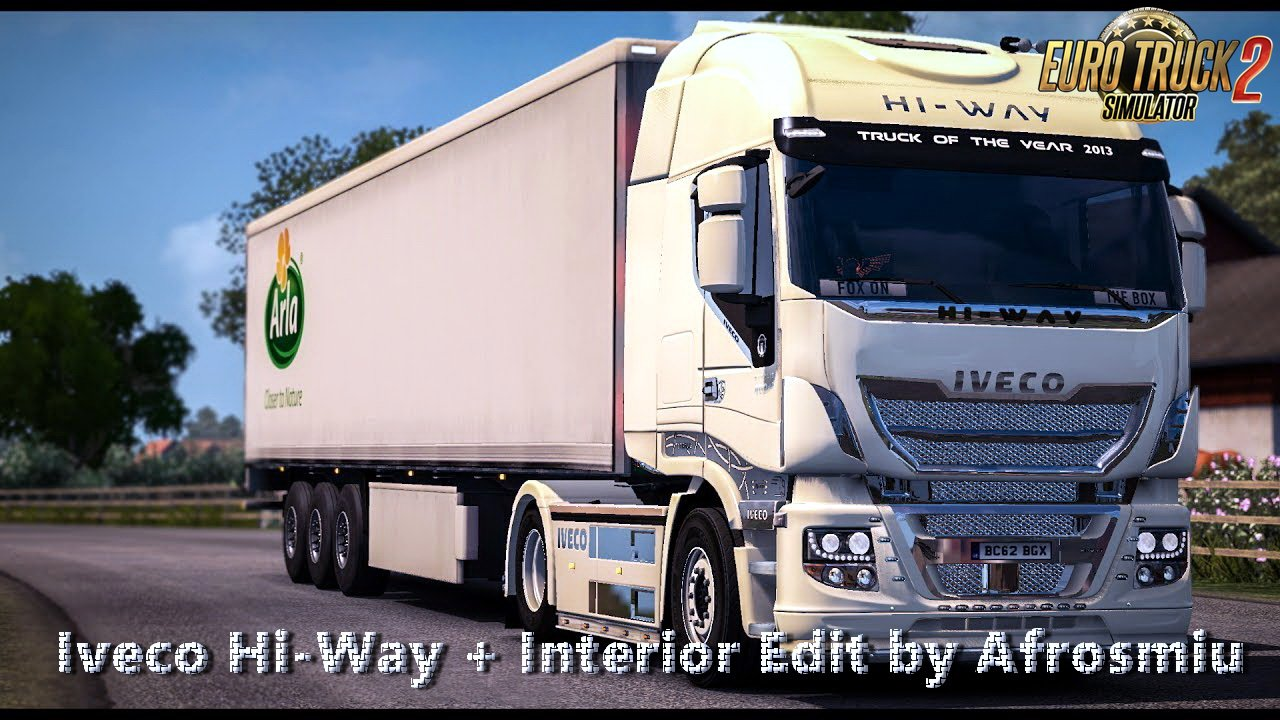 Iveco Hi-Way + Interior v1.0 Edit by Afrosmiu (1.28.x)