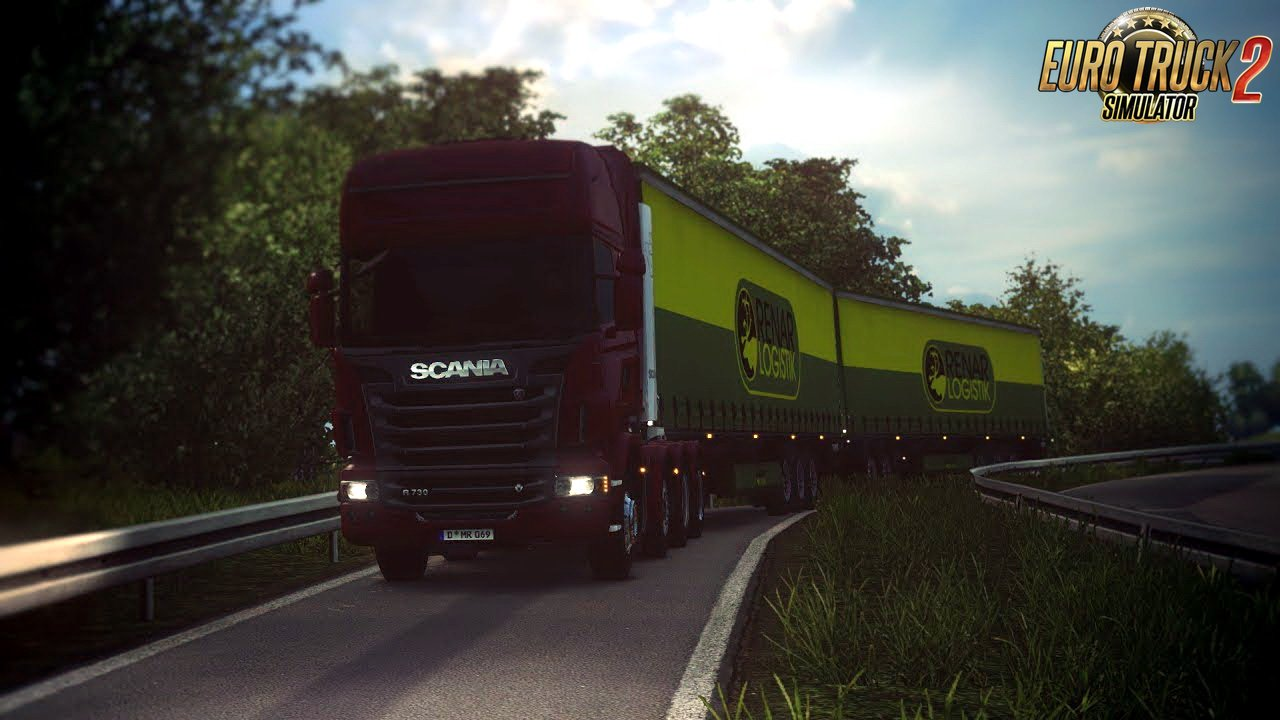 Double Trailers with Dolly v1.0 (1.28.x)