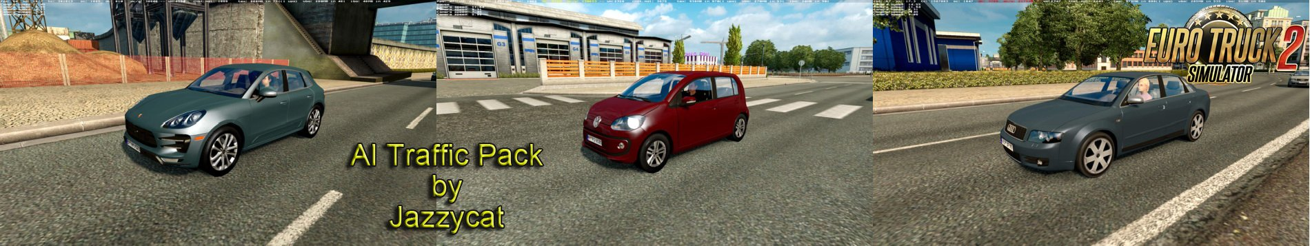 AI Traffic Pack v5.5 by Jazzycat