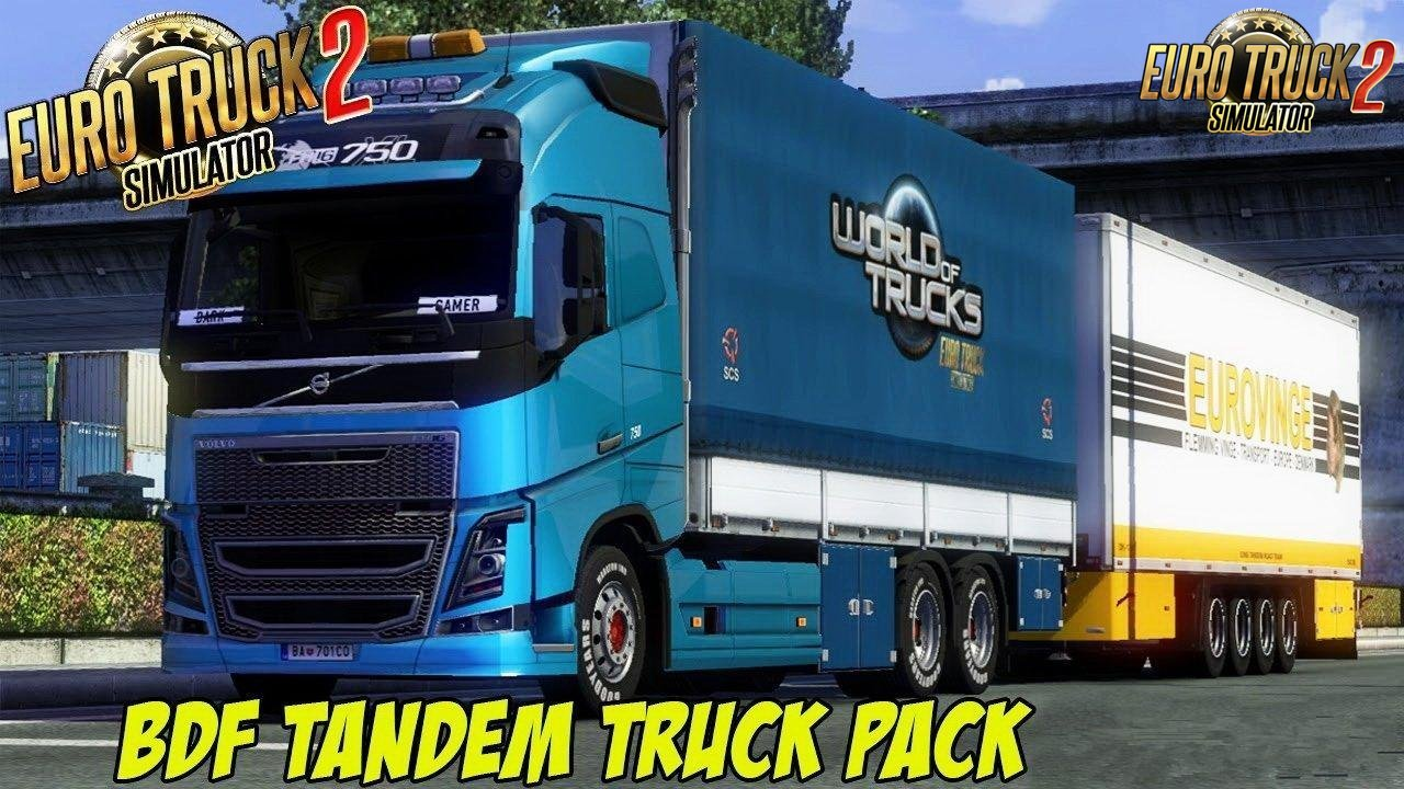 BDF Tandem Truck Pack v106.0 by Flemming V (1.35.x)
