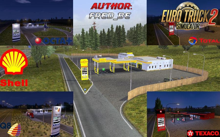 Real Gas Station v1.30 (Update) [1.30.x]