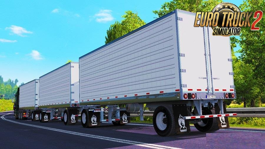 Triple Trailer Mod – American Reefer v1.28