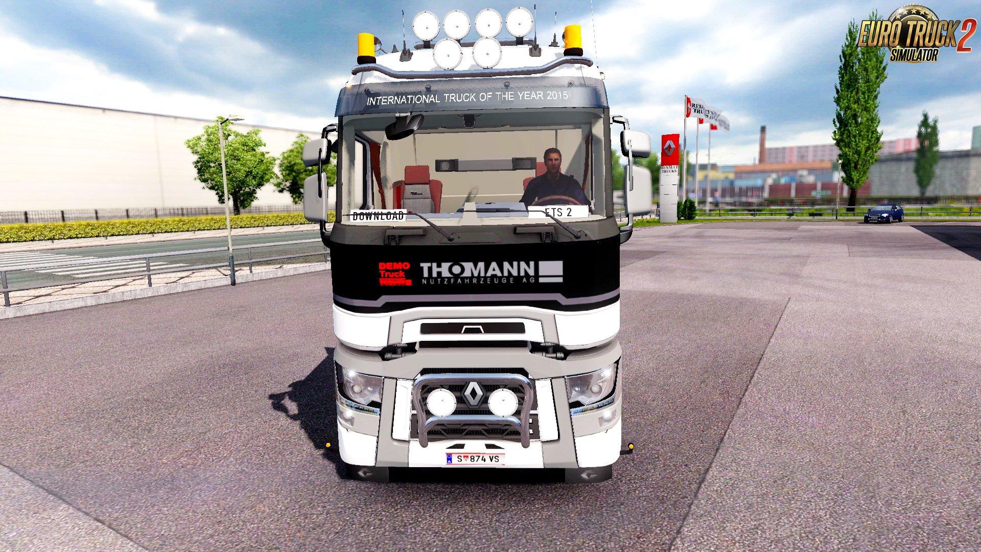 2017 Peterbilt 579 >> Renault Range T + Interior v6.2 (1.28.x) » ETS2 mods, SCS mods, Euro Truck Simulator 2 mods ...