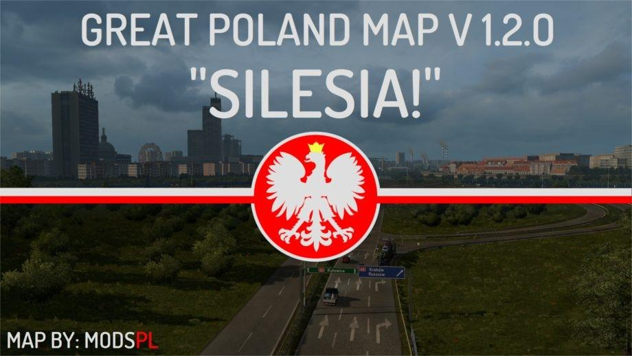 Great Poland Map v1.2.0 by ModsPL (1.28.x)