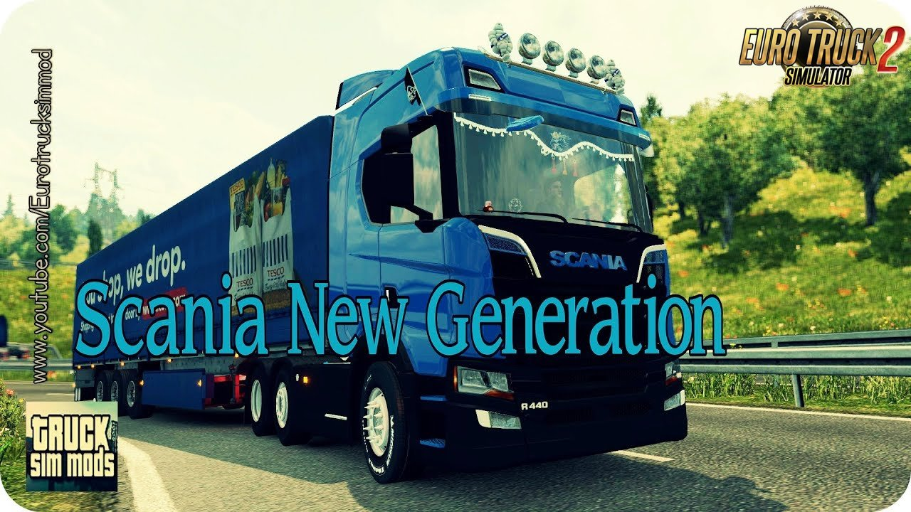 Scania New Generation Mega Mod (1.28.x) - Euro Truck Simulator 2
