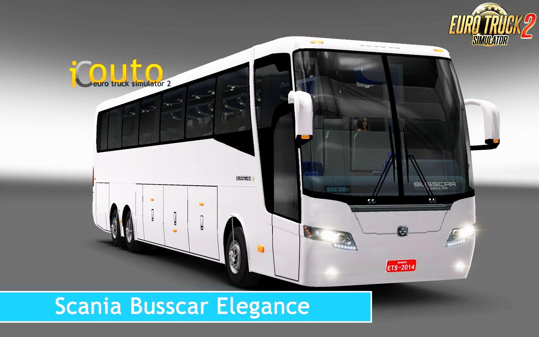 Scania Busscar Elegance 360 + Interior v1.0 (1.28.x)
