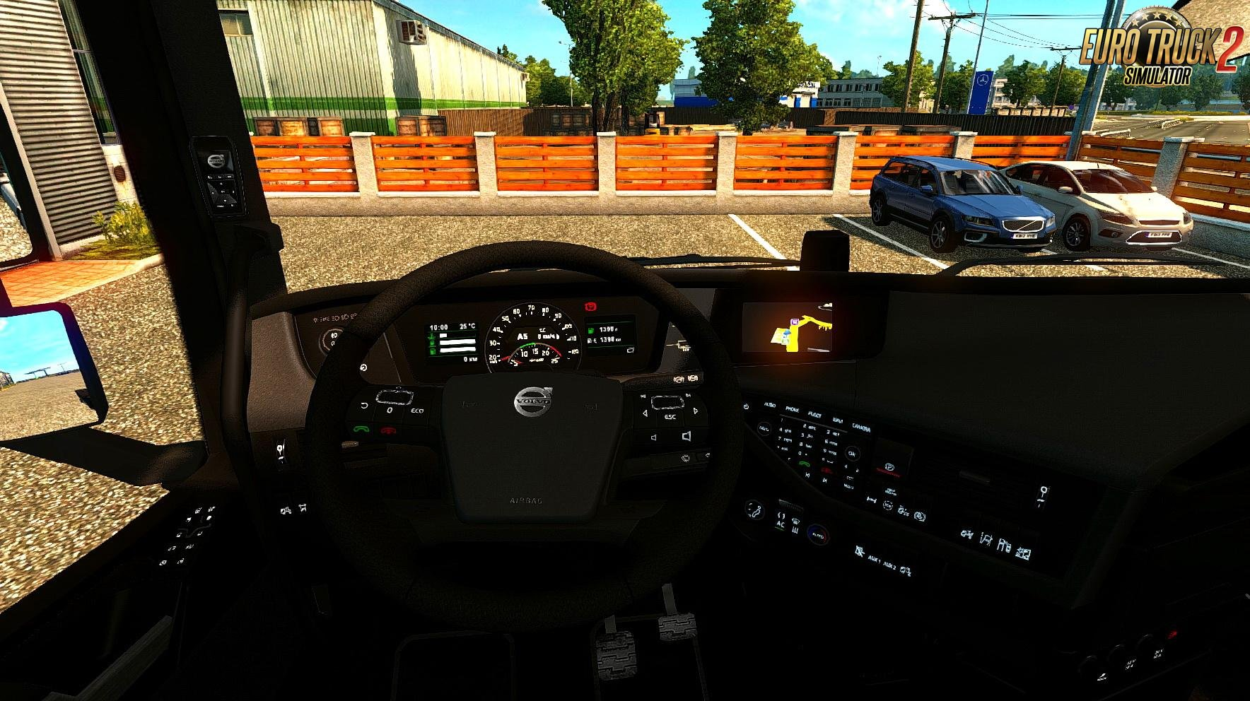 Volvo FH16 2012 Black + Red Interior v1.1 (1.28.x)